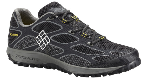 Columbia Conspiracy IV Shoes Men Black, Electron Yellow